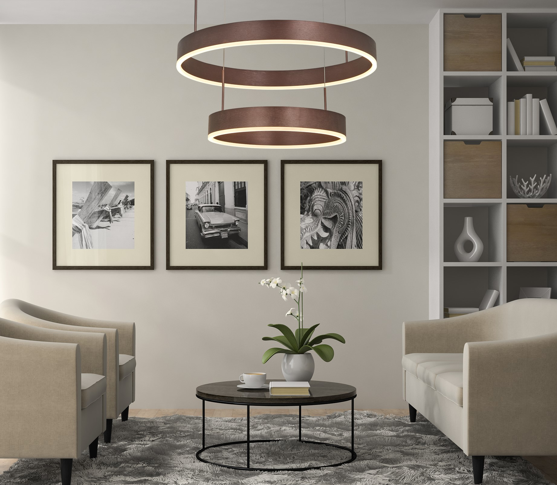 Erfahren Sie mehr über die LED Ringleuchte Milano