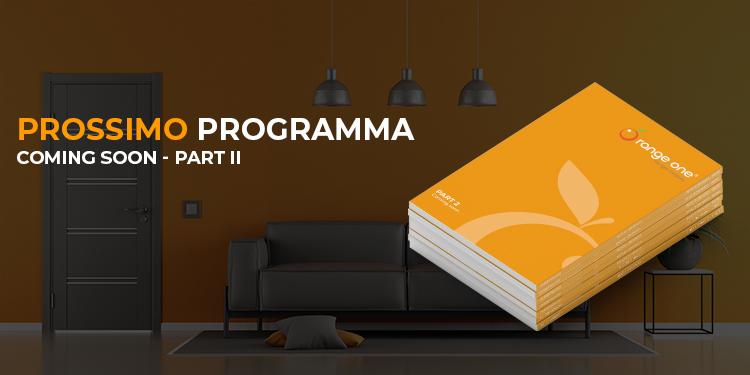 The next lighting program from Orange One.