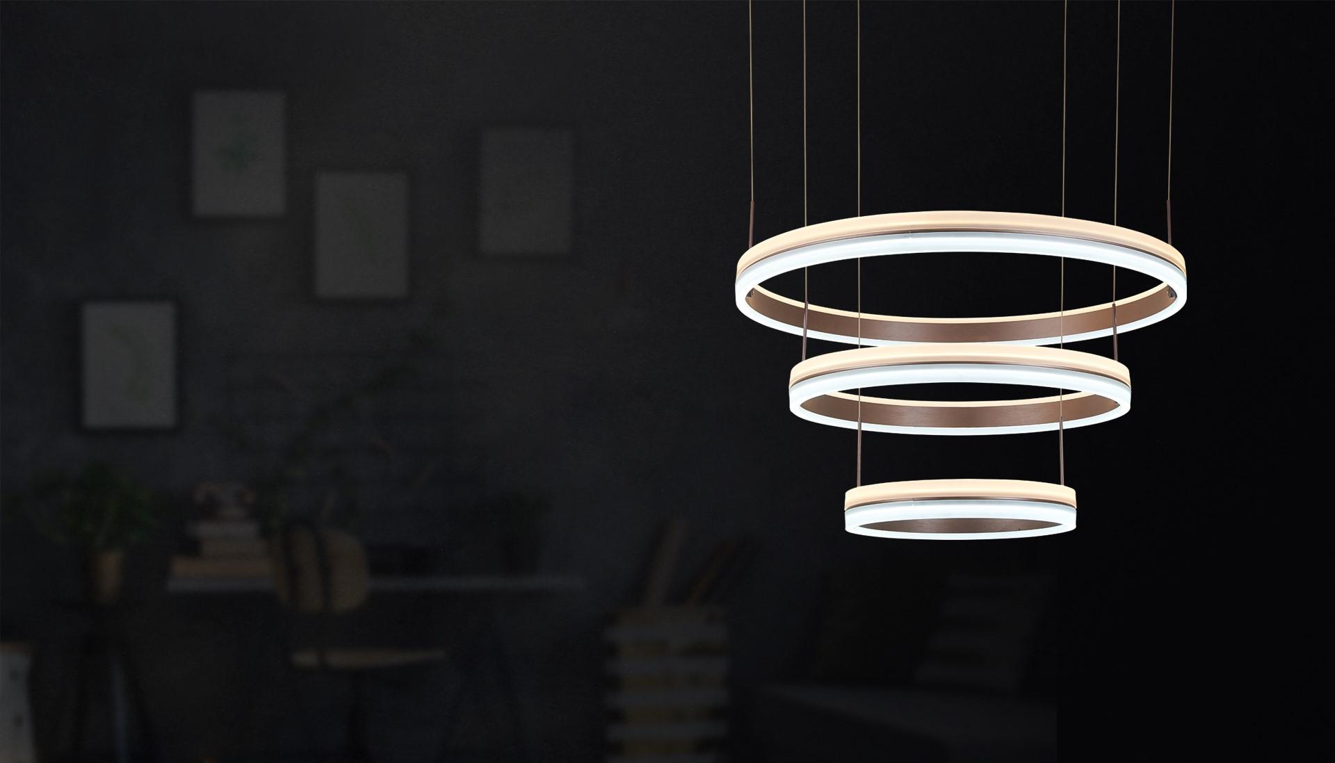 New hanging lamp & ring lamp Marino